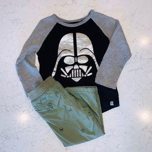 GAP Kids Star Wars Storm Trooper Shirt & Pants Set